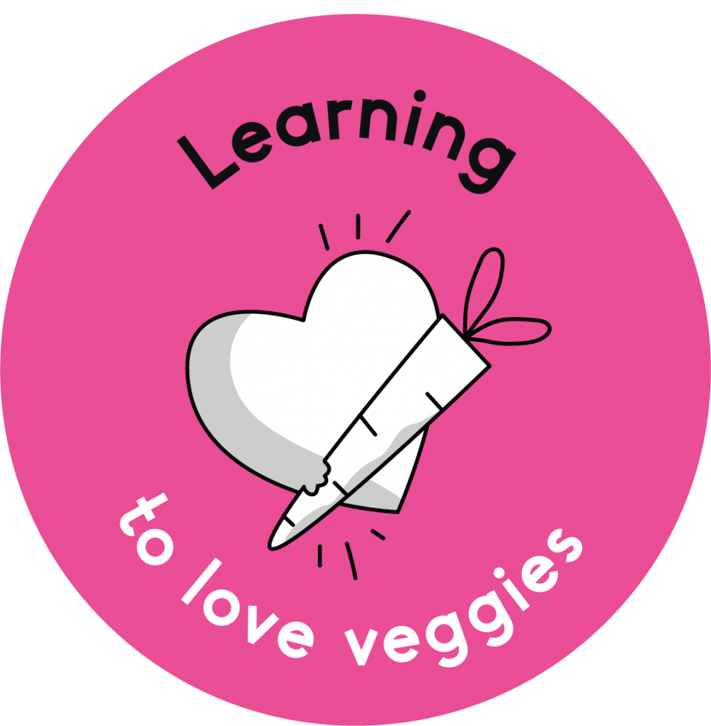 Learning to love vegetables