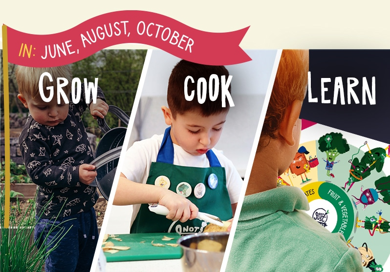 Grow, Cook, Learn Cooking kits for Kids